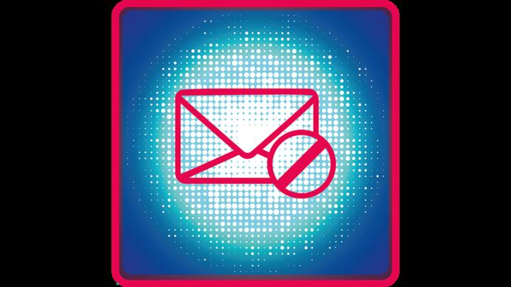 maila inte symbol