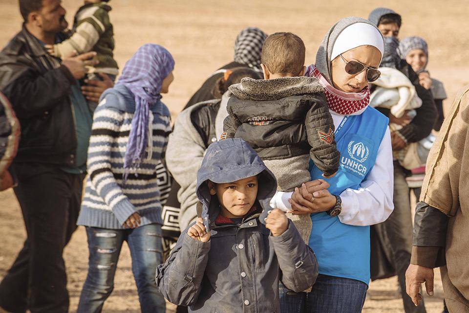 syrianska flyktingar