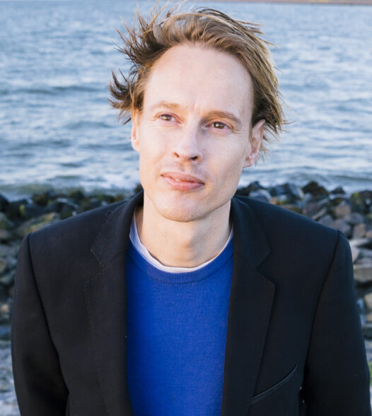 Portrait Daan Roosegaarde by Willem de Kam