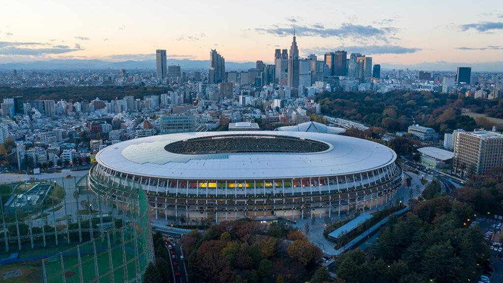 Olypiska stadion tokyo